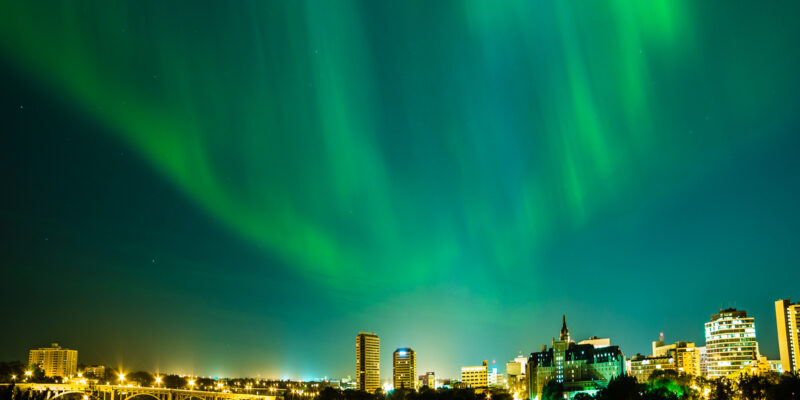 Aurora Borealis, Saskatoon, June 28-29, 2013